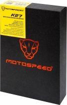 Клавиатура проводная Motospeed K27 USB Black ENG Outemu Red (mtk27mr) - изображение 7