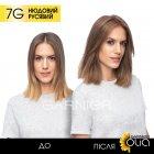 Краска для волос Garnier Olia Базовая линейка оттенок 7G Нюдовый русый 112 мл (3600542243810) - изображение 7
