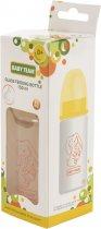 Бутылочка для кормления стеклянная Baby Team 0+ 150 мл (4824428012102) - изображение 3