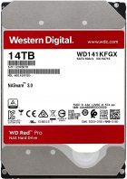 Жорсткий диск Western Digital Red Pro NAS 14TB 7200rpm 512MB WD141KFGX 3.5 SATA III - зображення 1