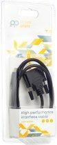 Кабель PowerPlant USB Type-C 3.1 — DVI (24 + 1) (M) 1 м Чорний (CA912124) - зображення 3