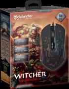 Миша Defender Witcher GM-990 RGB USB Black (52990) - зображення 5