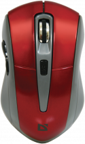 Мышь Defender Accura MM-965 Wireless Red-Grey (52966) - изображение 1
