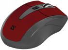 Мышь Defender Accura MM-965 Wireless Red-Grey (52966) - изображение 3