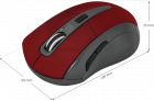 Мышь Defender Accura MM-965 Wireless Red-Grey (52966) - изображение 4