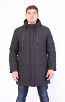 Куртка ZIBSTUDIO Rem 2XL Чёрная (7640843) - изображение 1