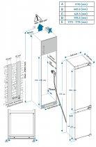 Вбудований холодильник VESTFROST IR2795E - зображення 20