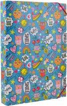 Папка для труда Yes картонная A4 Disco owls (491677) (5056137193561) - изображение 1