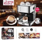 Кофемашина DSP Espresso Coffee Maker KA3028 напівавтомат з капучинатором кавоварка 1232 - зображення 7