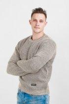 Джемпер мужской теплый Diko 607151 M Бежевый - изображение 1