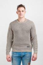 Джемпер мужской теплый Diko 607151 M Бежевый - изображение 2