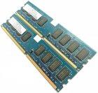 Оперативная память Nanya DDR2 4Gb (2Gb+2Gb) 800MHz PC2 6400U CL6 (NT2GT64U8HD0BY-AD) Б/У - изображение 3