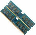 Оперативная память Nanya DDR2 4Gb (2Gb+2Gb) 800MHz PC2 6400U CL6 (NT2GT64U8HD0BY-AD) Б/У - изображение 4