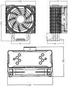 Кулер DeepCool Gammaxx GT A-RGB - зображення 14