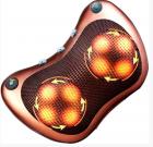 Инфракрасный 8 роликовий массажер для шеи и спины MASSAGE PILLOW QY-8028 - изображение 3