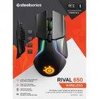 Мышка SteelSeries Rival 650 black (62456) - изображение 4