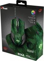 Миша Trust GXT 781 Rixa Camo Mouse & Pad USB Camouflage (TR23611) - зображення 15