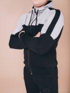 Чоловічий спортивний костюм BERSENSE BRAVE світло-сірий, XL - изображение 3