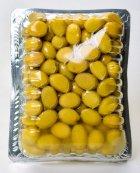 Оливки зеленые Fimtad с косточками надрезанные 400 г (8681957371522) - изображение 2