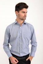 Рубашка AGER 40 Синий с белым 9021-29 - изображение 1