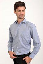 Рубашка AGER 40 Синий с белым 9021-29 - изображение 2