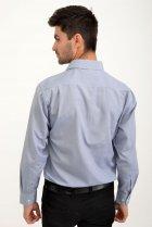 Рубашка AGER 40 Синий с белым 9021-29 - изображение 3