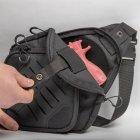 Тактическая сумка-кобура для скрытого ношения Scout Tactical EDC crossbody ambidexter bag black - изображение 2