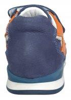 Кроссовки Perlina 4GOLORANGE р. 22 14,2 см Голубой с оранжевым - изображение 3