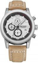 Мужские часы Megir Silver Brown MG2026 (ML2026GBN-7N1) - изображение 1