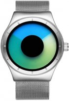 Мужские часы Guanqin Silver-GreenBlue-Silver GS19043 CS (GS19043SGBlS) - изображение 1