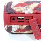 Колонка ZEALOT S32 Red Camouflage bluetooth 5.0 бездротова 5 Вт - зображення 4