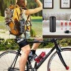 Колонка сенсорна ZEALOT S8 Black 4000 маг мікрофон 6Вт Micro SD 10м Power Bank стерео + чохол - зображення 6