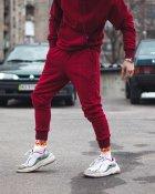 Спортивные штаны Over Drive Jog бордовые XS - изображение 2