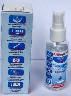 Дезінфікувальний засіб антисептик Олсепт Allsept 75 для зовнішнього застосування 50 мл (4820022242655) - зображення 5