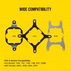 Система водяного охлаждения Corsair iCUE H115i RGB PRO XT (CW-9060044-WW) - изображение 6