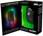 Миша Esperanza MX501 Shadow USB Black (EGM501) - зображення 4