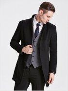 Пальто Mod-Room L ділове Чорне RA-HM10023 - зображення 3