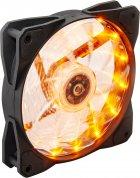 Кулер Frime Iris LED Fan 15LED Yellow (FLF-HB120Y15) - изображение 1
