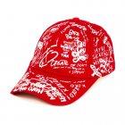 Бейсболка Dad Create etc Beani'qe One sizе Красный (25048) - изображение 1