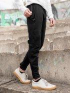 Штани спортивні чоловічі BERSENSE SPIYDER трикотаж чорні, L - зображення 2