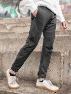 Штани спортивні чоловічі BERSENSE SPIYDER трикотаж темно-сірі, L - изображение 2