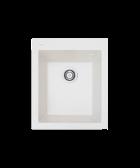 Кухонная мойка BORGIO Q-410×500 жемчужный - изображение 1