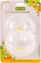 Контейнер BABY TEAM для збирання молока 2 шт. (0035) (4824428000352) - зображення 5
