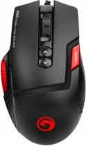 Миша Marvo M355 USB з ігровою поверхнею G1 Black (M355+G1) - зображення 2