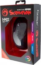 Миша Marvo M422 RGB USB Black (M422) - зображення 7
