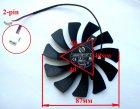 Вентилятор ONG HUA для видеокарты MSI HA9010H12F-Z 2-pin (№42) - изображение 3