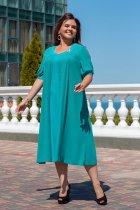 Платье ALDEM 1552 60 Морская волна (2000000365350) - изображение 1