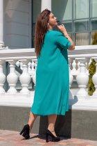 Платье ALDEM 1552 60 Морская волна (2000000365350) - изображение 2