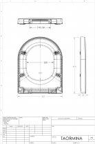 Инсталляция KOLLER POOL Alcora ST1200 с панелью смыва Kvadro Chrome+унитаз VILLEROY&BOCH Omnia Architectura 5684R001+сиденье KOLLER POOL Round Soft Close - изображение 11