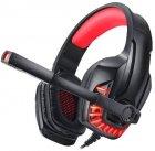 Наушники Real-El GDX-7650 Black-red (EL124100043) - изображение 7
